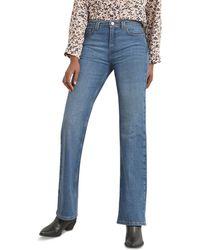 Gerard Darel Laura Flare Cut Jeans In Blue