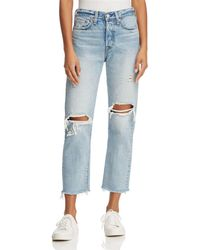 Levi's - Wedgie Straight Jeans In Lost Inside - Lyst