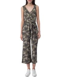 B Collection By Bobeau Jordyn Ribbed Knit Jumpsuit - Multicolour