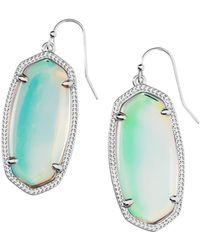 Kendra Scott Signature Elle Drop Earrings - Multicolour