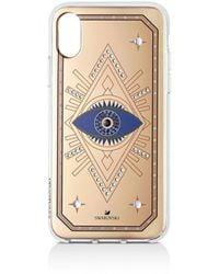 Swarovski Tarot Eye Iphone Case - Blue