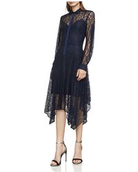 BCBGMAXAZRIA - Beatryce Lace Shirt Dress - Lyst