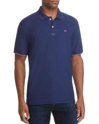 Vineyard Vines - Performance Usa Flag-logo Polo Shirt - Lyst