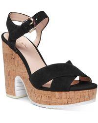 Kate Spade Women's Glynda High - Heel Platform Sandals - Black