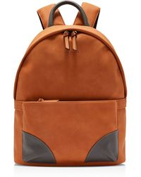 38858dd067e3 Lyst - Ted Baker Passed Faux Leather Backpack in Black for Men