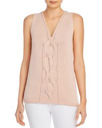 Lafayette 148 New York - Cable - Knit Tank - Lyst