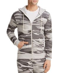 Alternative Apparel - Rocky Camouflage Zip Hoodie - Lyst