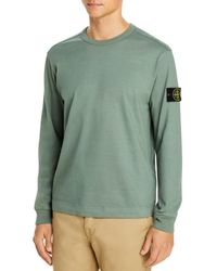 Stone Island Sleeve Logo Sweatshirt - Green