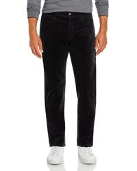 Bloomingdale's The Store At Bloomingdale's Corduroy Tailored Fit Pants - Gray