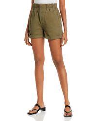 Aqua Elastic - Waist Shorts - Green