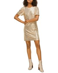 Whistles Sequin Shift Dress - Multicolor