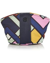Tory Burch - Large Nylon Dome Cosmetic Case - Lyst
