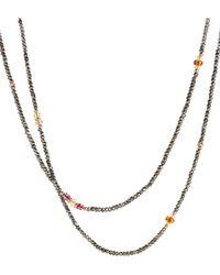 David Yurman - Citrine And Pink Tourmaline In 18k Gold - Lyst