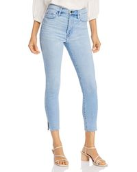 FRAME Ali High - Rise Cigarette Jeans In Carnation - Blue