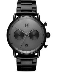 MVMT Starlight Link Bracelet Chronograph - Black