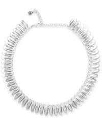 Uno De 50 Leaves Necklace - Metallic