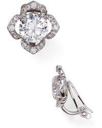 Nadri - Clip-on Earrings - Lyst