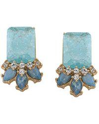Carolee - Cluster Stud Earrings - Lyst