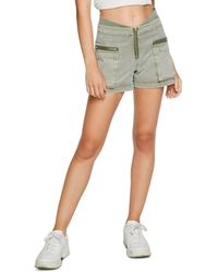 Chaser Twill Cargo Shorts - Green