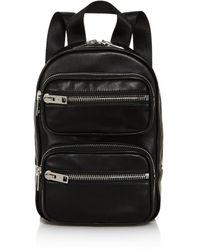 Alexander Wang Attica Medium Leather Backpack - Black