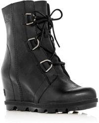 Sorel - Women's Joan Of Arctic Ii Waterproof Leather Hidden Wedge Boots - Lyst