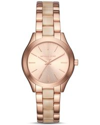 MICHAEL Michael Kors - Micheal Kors Slim Runway Watch, 33mm - Lyst