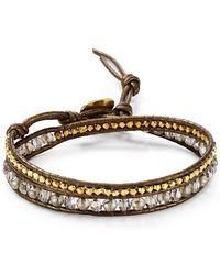 Chan Luu | Beaded Crystal Wrap Bracelet | Lyst