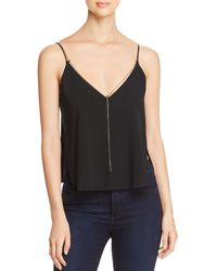 Kenneth Cole - Chain-trimmed Camisole Top - Lyst