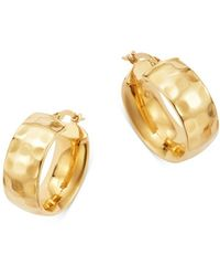 Bloomingdale's Huggie Hoop Earrings In 14k Yellow Gold - Metallic