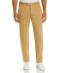 Bloomingdale's The Store At Bloomingdale's Chino Classic Fit Pants - Natural
