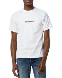 The Kooples Cotton Logo Tee - White