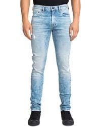 PRPS Fullerton Acid - Wash Skinny Fit Jeans In Indigo - Blue