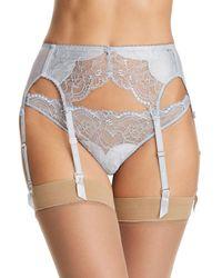 Dita Von Teese Tryst Suspender Belt - Grey