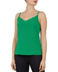 ef6a2b7a78f599 Ted Baker Off-the-shoulder Top in Blue - Lyst