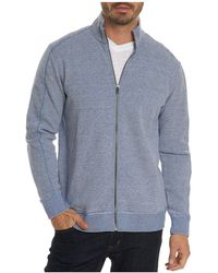 Robert Graham - Oneonta Front-zip Cotton Sweater - Lyst