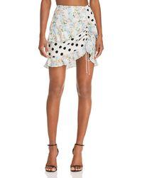 For Love & Lemons - St. Louis Mini Skirt - Lyst