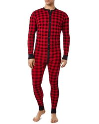 2xist 2(x)ist Essential Union Suit - Red