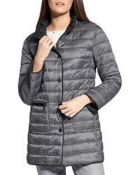 Basler Reversible Quilted Jacket - Black