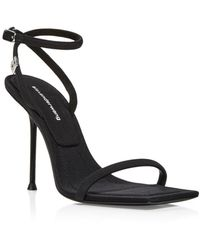 Alexander Wang Julie Strappy High Heel Sandals - Black