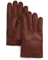 Bloomingdale's The Men's Store Leather Gloves - Brown