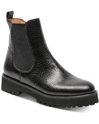 Andre Assous Women's Peggy Croc - Embossed Ankle Boots - Black