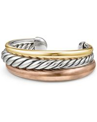 David Yurman - Sterling Silver & Brass - Lyst