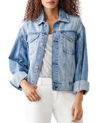 DL1961 Annie Cotton Denim Jacket - Blue