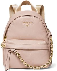 MICHAEL Michael Kors - Slater Extra-small Pebbled Leather Convertible Backpack - Lyst