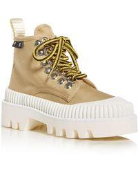 Proenza Schouler Women's High - Top Platform Sneakers - Natural