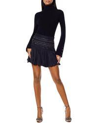 Ramy Brook Mirna Studded Skirt - Black