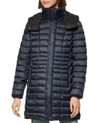 Marc New York Marble Puffer Coat - Blue