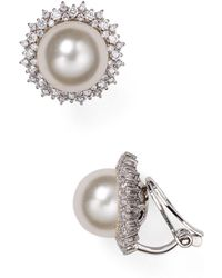 Nadri - Clip-on Earrings - Lyst