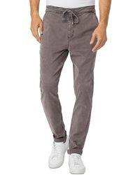 PAIGE Fraser Slim Fit Pants - Grey