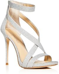 Imagine Vince Camuto - Women's Devin Glitter Ankle Strap High Heel Sandals - Lyst